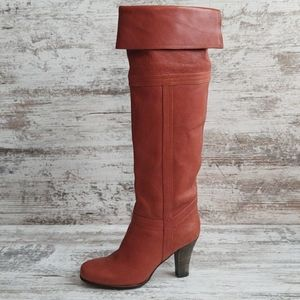 NWOT Coclico Anthropologie Leather Boot